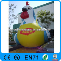 cock hen chicken inflatable balloon