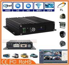 Economic and Reliable mobile dvr Support 3G video transmission function built in 3g 4g wifi