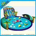 funny inflatable water park games