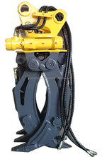 Log Grapple for Excavator, 360 Degree Rotating Grapple with Joystick