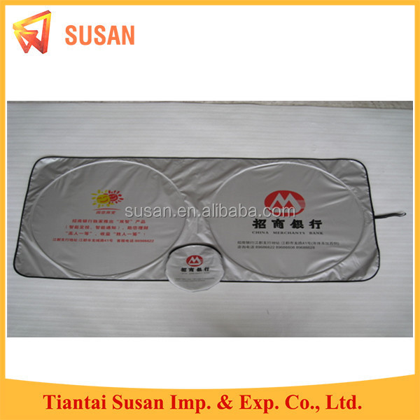 double circle polyester front car windshield