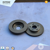 Front Brake Disc for honda Stream MPV (RN1/RN3 Civics FD/CR-Z(ZF1)Hybrid 10Year high performance Chassis Parts