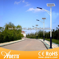 Low price 8m solar power energy street light pole in china supplier