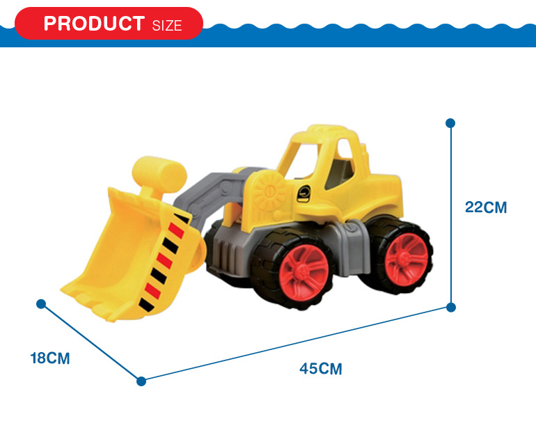 Wholesale plastic tractor excavator truck toy bulldozer for kids