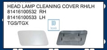HEAD LAMP CLEANING COVER FOR MAN TGS TGX TRUCK PARTS 81416100532 81416100533