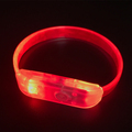 June 2017 Newest Promotional Gifts Replaceable Battery Led Flashing Bracelet Wristbands
