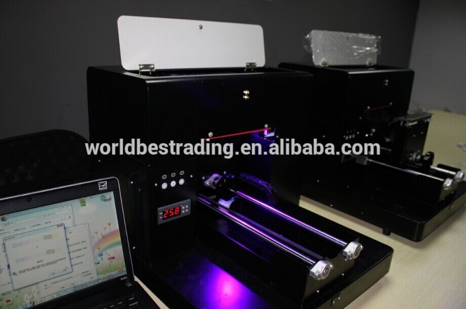 Cheap multicolor inkjet printer a4 uv flatbed