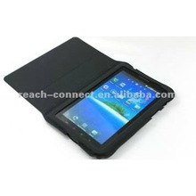 Leather laptop travel stand waterproof book case for Tablet PC