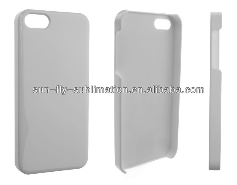 3D Printable polymer phone case Sublimation Blank case for iPhone 5
