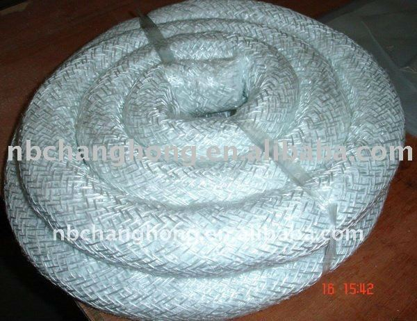 fiberglass braided lagging rope inside with ceramic fiber