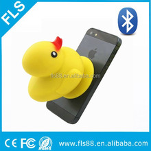 cartoon cute duck shape design bluetooth speaker for kids market