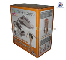 Printed Healthy Shoes Corrugated Packaging Box
