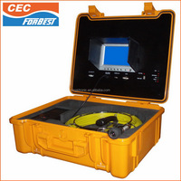 unique design 20/30/40M cable Waterproof IP68 Forbest Sewer Drain Pipe Inspection Camera System