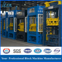 Germany technology automatic QT8-20 raw material concrete foam block brick making machine price list in India