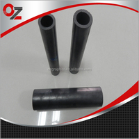 OEM customized processing graphite pipe for smelting Aluminum