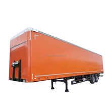 HYCH box cargo trailer Cargo Trailer Semi Truck for hot sale