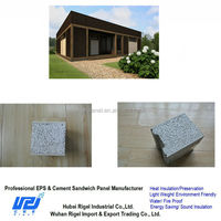 Prefabricated cheapest structural waterproof garage wall covering panels