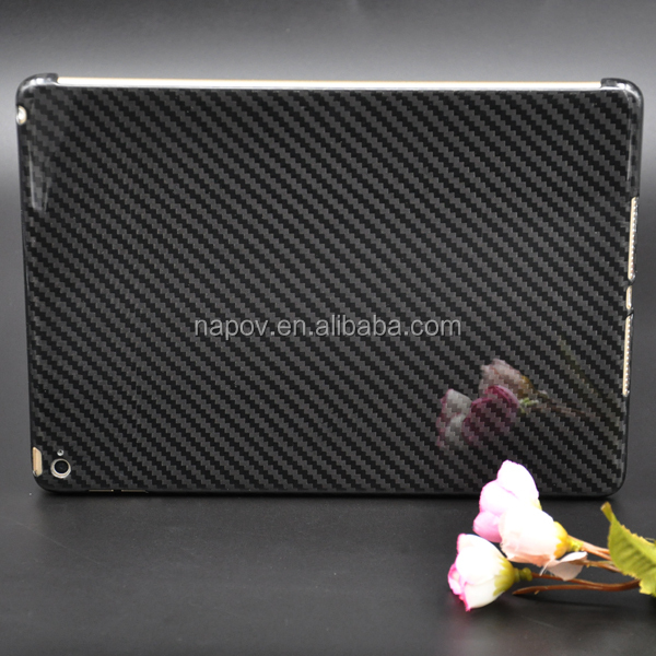 China Hot Selling High Quality Slim Carbon Fiber Tablet Cases For iPad air 2