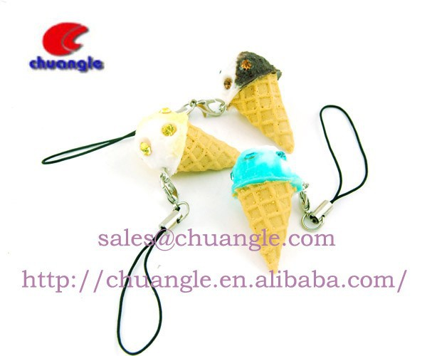 Artificial Food Model, Fake Food Handicraft, OEM Fake Food Keychain