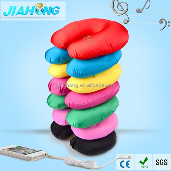 music speaker with bead neck protect pillow