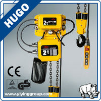 Low Noise Double Speed Hook Fixed Type Electric Chain Hoist 10 Tons/Hoist Chain