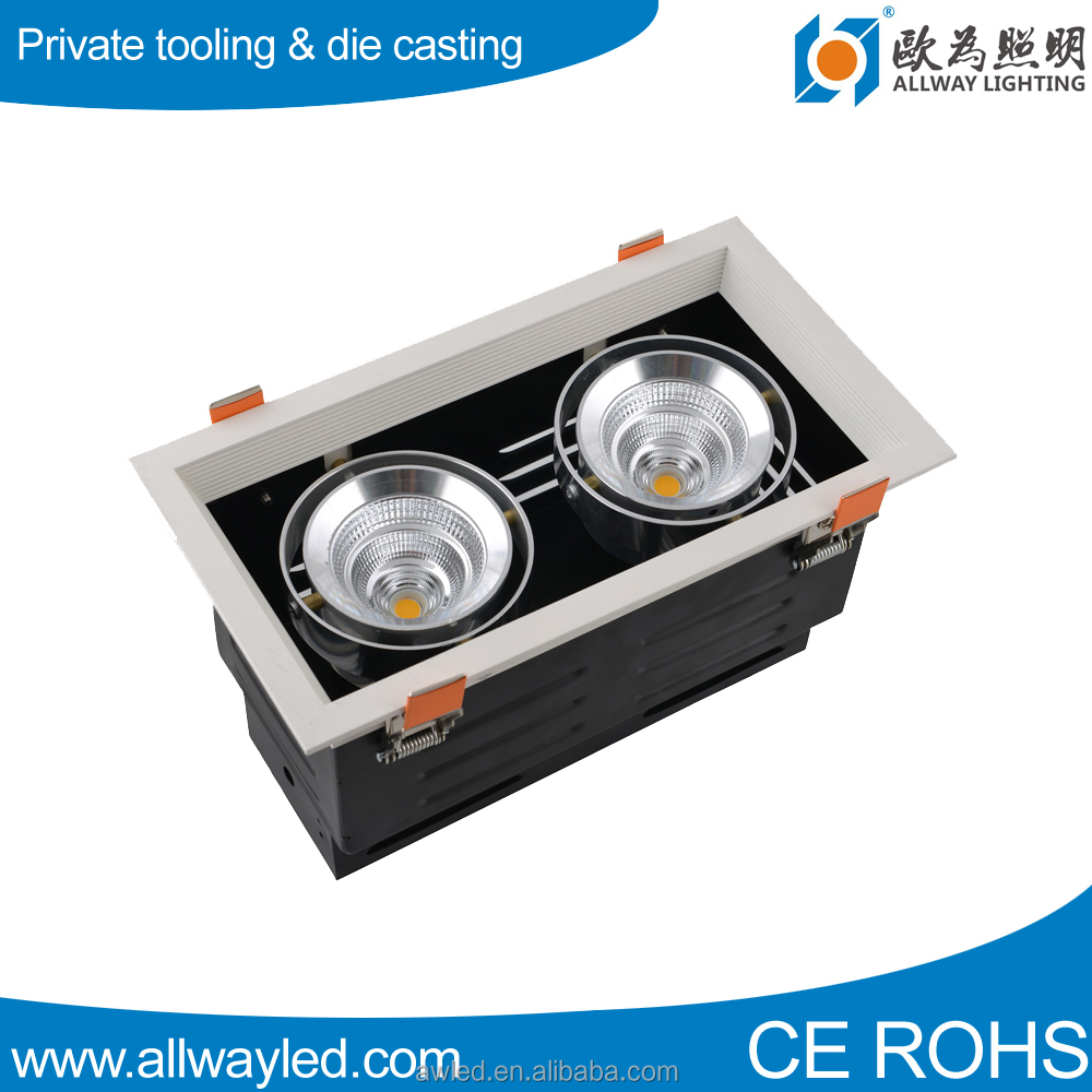 CE Rosh Triac Dimmable 18W Recessed <strong>LED</strong> Grille <strong>Light</strong>