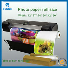 glossy photo paper a4/128gsm two sides inkjet photo paer