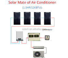 solar air conditioner partner 1KW for home normal air con , less than 2 years money back