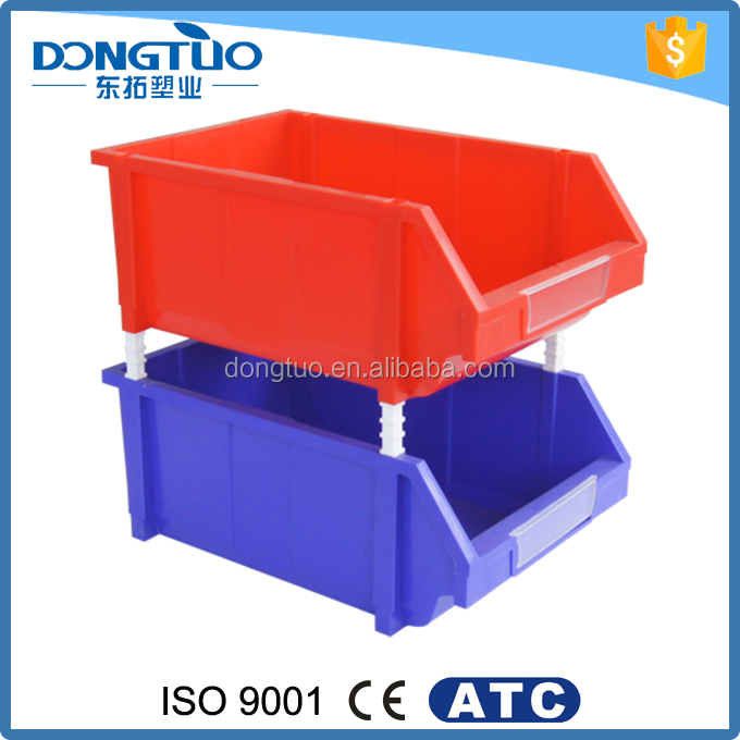 Stackable plastic vegetable bins for screws, cost of plastic parts bin