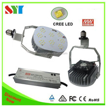 6 years warranty UL DLC Shoe Box Light Retrofit Kit Led cool white CRE chip MW driver