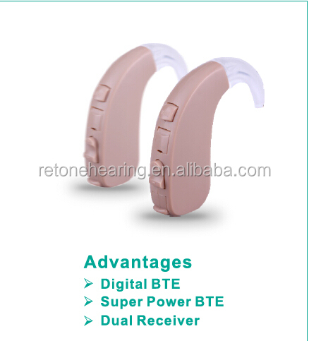 High power digital hearing aids