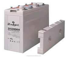 2v gel battery 2V 1000AH battery charger deep cycle battery manufacture in China