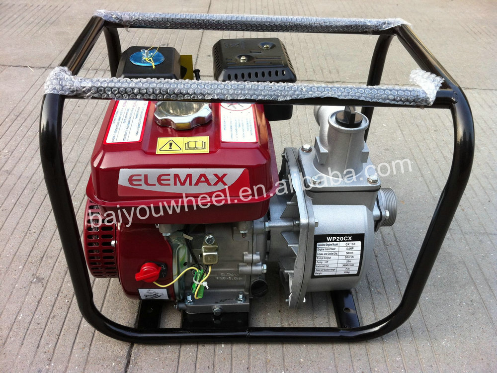 2inch 3inch 4inch irrigation ELEMAX gasoline water pump with japan quality