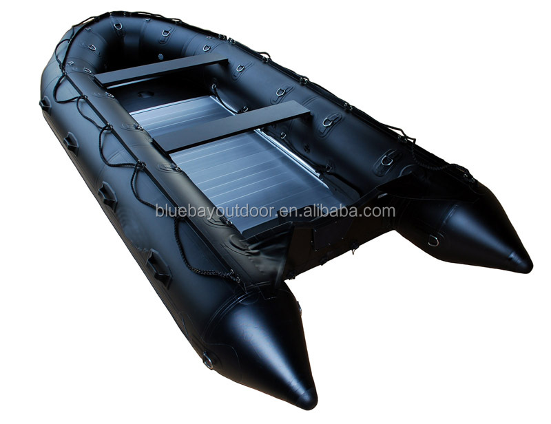 360 aluminum hull inflatable dinghy boat/rowing boat sale with CE