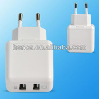 High Quality Customized Logo AC Wall plug Adapter EU electrical Plug Charger for Mobile Phone