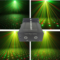 200mw RG Laser Stage Lighting Dance Party Show Light LED Effect Projector