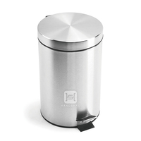 stainless steel garbage can walmart industrial steel waste bin/metal garbage bin