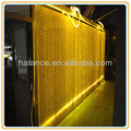 gorgeous led waterfall light fiber optic curtain