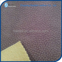 lychee little grain surface design pvc vinyl fabric leather for decoration