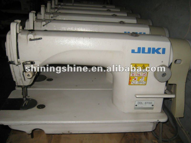 used japanese JUKI industrial sewing machine