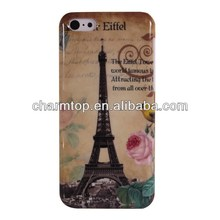Eiffel Tower Hard Plastic Case For Apple iPhone 5C