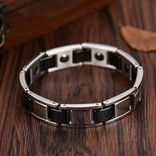 Longqueen 2017 Top10 Best Selling 316 Steel Ceramics As Seen On Tv Magnetic Bracelet