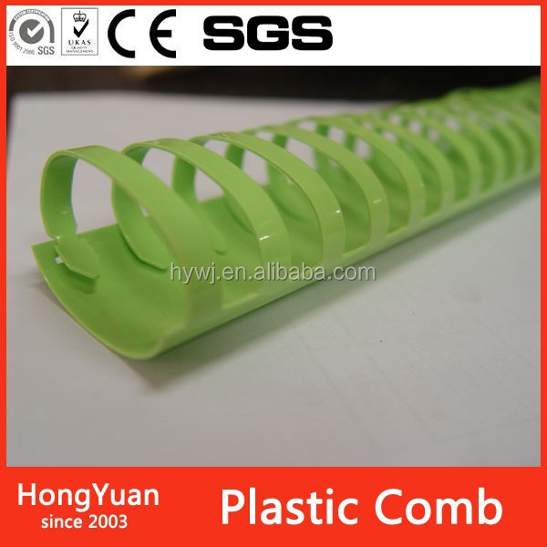 Office and School Supplies Plastic Haire Binding Comb Ring
