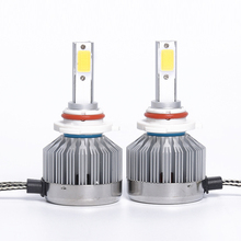Replacement headlight kit 9006 led off road forklift headlights assembly COB LED fog driving headlight