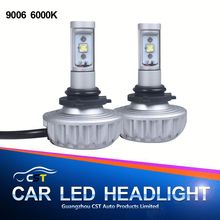 Wholesale automobile accessory new product high bright front led headlight led light car 12v 3s led headlight car led headlight