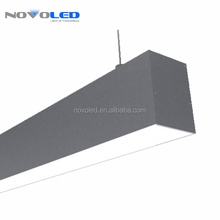 Linkable aluminum profile 1.2m 36w 3600lm office hanging light modern