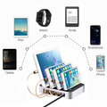 Mobile Phone Charger Multi USB Charge Dock USB Charging Station Organizer