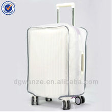 Clear PVC waterproof luggage suitcase cover for travel
