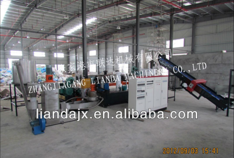 PP, PE film granulating/pelletizing line