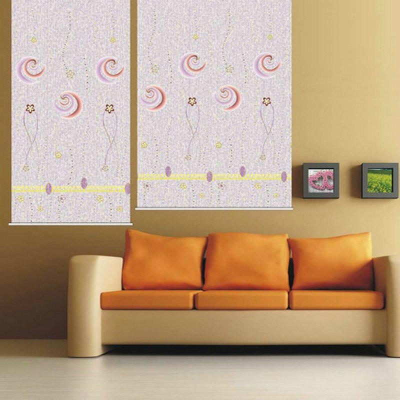 2015 nice design new type jacquard fabric roller blind curtain